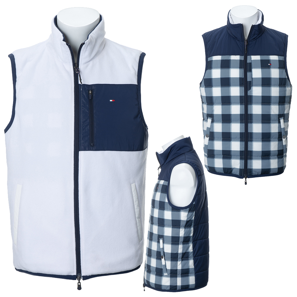 Tommy Hilfiger(トミーヒルフィガー)/ 2019秋冬 TH REVERSIBLE PADDED VEST THMA989