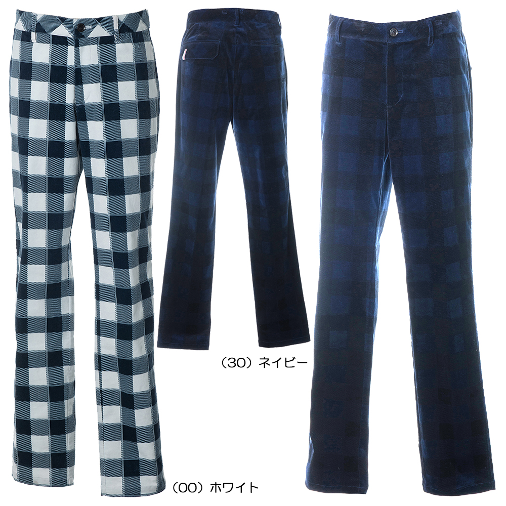 Tommy Hilfiger(トミーヒルフィガー)/ 2019秋冬 TH CHECK PRINTED TAPERED PANTS THMA988